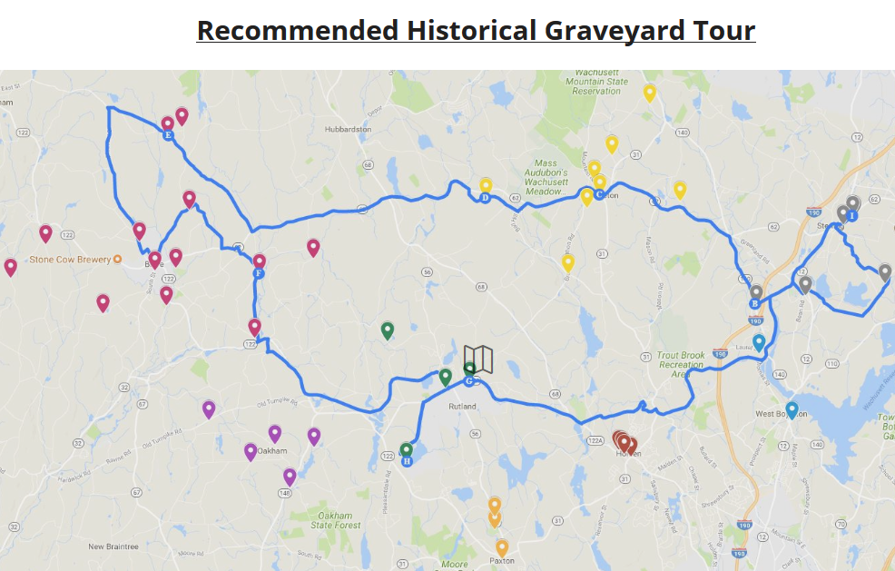 Wachusett Region's Historic Cemetery Trails