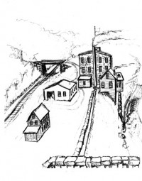 Mill drawing by Jim Taylor