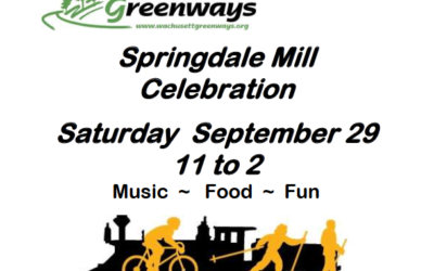 Join us for our Annual Springdale Mill Celebration