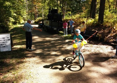 Springdale Mill Celebration 2014 - Bicycle race!