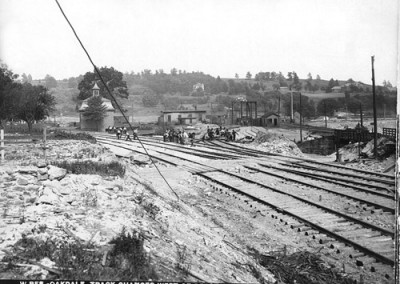 Historic Photo - Mass Central RR Track Relocation