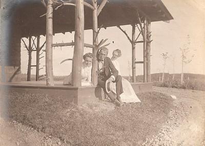 Historic Photo - atop Mt. Wachusett