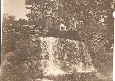 Historic Photo - Possibly dam at Cook's Canyon