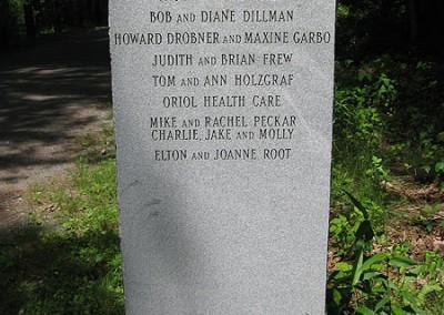 Oakdale Trailhead Stele