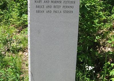 Rutland - Miles Road Stele