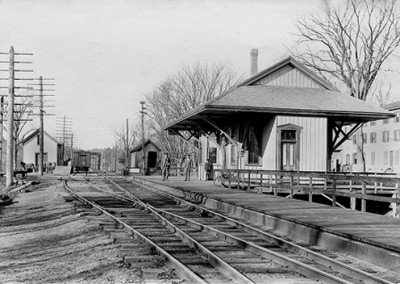 Historic Photo - The West Boylston Railroad Station