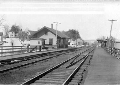 Historic Photo - West Boylston Depot